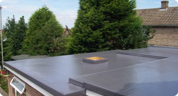 I Tec Flat Roofing Fibre Glass Flat Roofing London